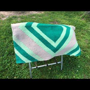 Western horse show blanket